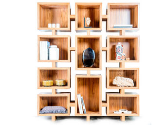 EVOLUTION21 BY KARINE BONJEAN -  - Open Bookcase