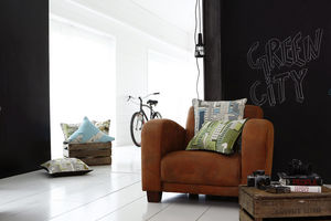 Art De Lys - city - Cushion Cover