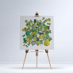 la Magie dans l'Image - toile ananas - Digital Wall Coverings