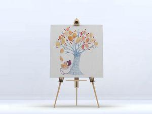 la Magie dans l'Image - toile un arbre - Digital Wall Coverings