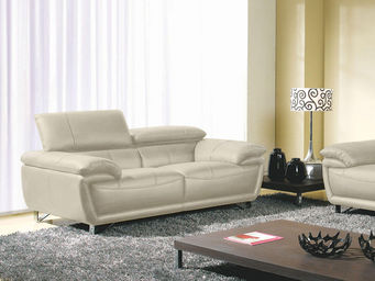 WHITE LABEL - canapé 2 places baya - 2 Seater Sofa
