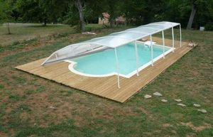 Abri-Integral -  - Flat Swimming Pool Shelter