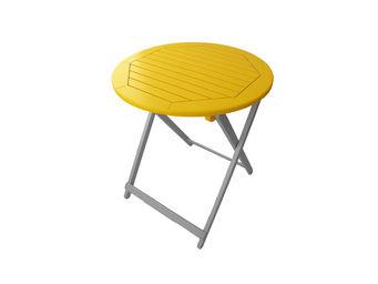 City Green - table de jardin pliante ronde burano - 65 x 74 cm  - Folding Garden Table