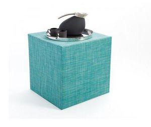 CHILEWICH - cube basketweave - Garden Ottoman