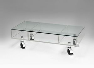 Marais International -  - Coffee Table With Casters