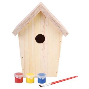 Esschert Design - nichoir à assembler et à peindre - Birdhouse