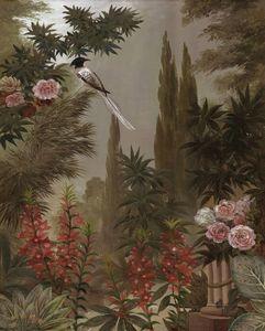 Ananbô - le jardin à la mandragore - Panoramic Wallpaper