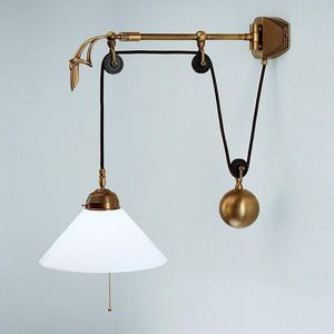 Berliner Messinglampen -  - Wall Lamp