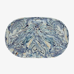 PASCALE MESTRE -  - Oval Dish