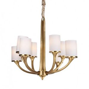 ALAN MIZRAHI LIGHTING - am8114q flair chandelier - Candelabra