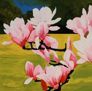 Emmanuelle Parent - magniola - Decorative Painting