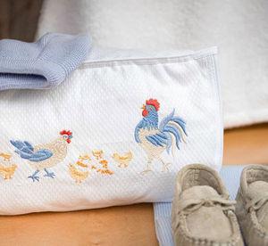 Noel - basse cour - Children's Vanity Bag