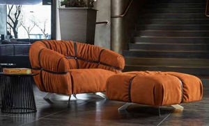 ITALY DREAM DESIGN - croosover - Armchair And Floor Cushion