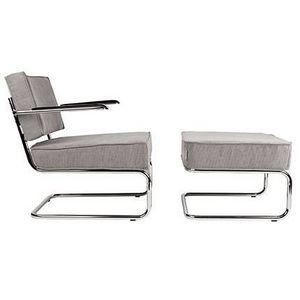 MAISON ET STYLES -  - Armchair And Floor Cushion