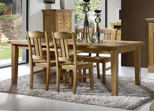 MEUBLE HOUSE -  - Rectangular Dining Table