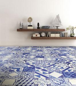 14 ORA ITALIANA - le riggiole bianco blu - Floor Tile