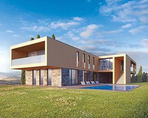 SCACCHETTI Associati -  - Flat Roofed House
