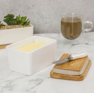 MAISON & WHITE -  - Butter Dish