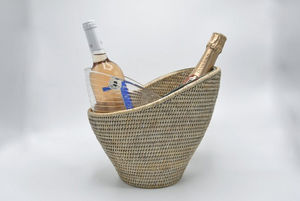 ROTIN ET OSIER - corazon - Champagne Bucket