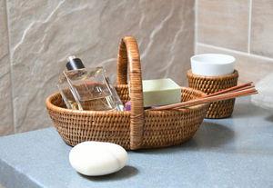 ROTIN ET OSIER -  - Bathroom Basket