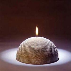 Inspirit /carmel Consult - demi-sphère - Round Candle