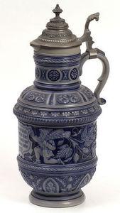 ANTIQUES LACARTA DECORACIÓN - jarrón cerveza 1900 - Beer Mug