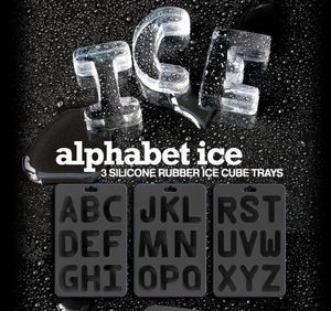 Suck Uk - alphabet - Ice Tray
