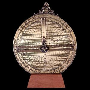 HEMISFERIUM - astrolabe universel de rojas - Spherical Astrolabe