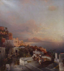 ANDERSON GALLERIES - posilipo napoli - Oil On Canvas And Oil On Panel