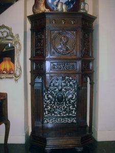Grand Papa Antiquites -  - Bonnetiere Cupboard