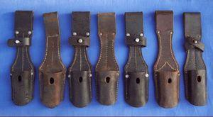 Cedric Rolly Armes Anciennes - portes baionnettes mauser ww1 et ww2 - Bayonet