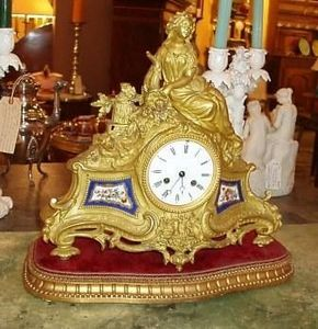 Jacque's Antiques -  - Desk Clock