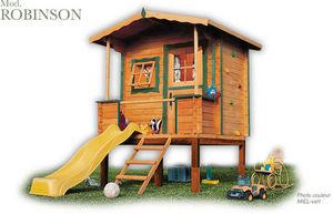 CABANES GREEN HOUSE - robinson - Children's Garden Play House