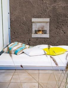 RUBY FIRES -  - Flueless Burner Fireplace