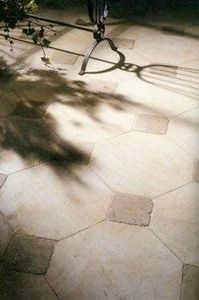 Steve Charles - antique stone floor - Floor Tile