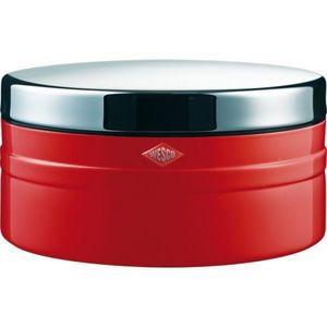 Wesco - boite à biscuits rouge cl 4l - Biscuit Tin