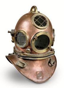 JD PRO - casque de scaphandrier - Antique Diving Helmet