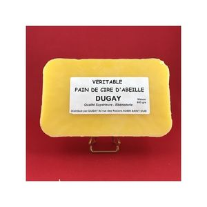 Produits Dugay - cire vierge en pain - Beeswax