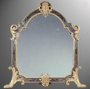 KRAEMER - miroir de table en marqueterie boulle - Table Mirror
