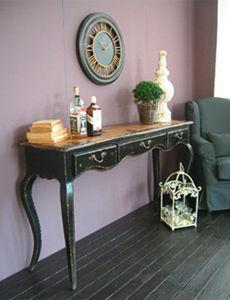 BLEU PROVENCE - vintage black - Console Table