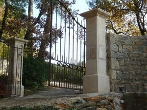 SUD DECOR SDP - 40x40 ton pierre - Gate Pillar