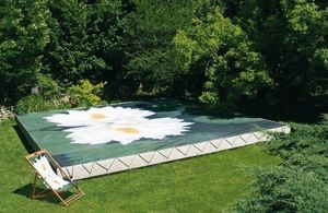 Tiki concept -  - Personalised Pool Cover