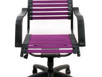 Miliboo - stardust v1 violet - Office Armchair