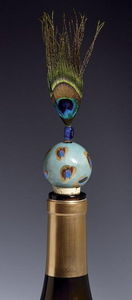 LOLITA DESIGNS - ostentatious - Decorative Bottle Stopper