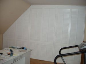 Jasno Shutters - placard persienne - Closet