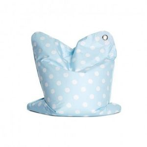 SITTING BULL - sitting bull - pouf fashion mini bull bébé blue - - Children's Ottoman