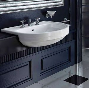 BLEU PROVENCE -  - Wall Mounted Washbasin