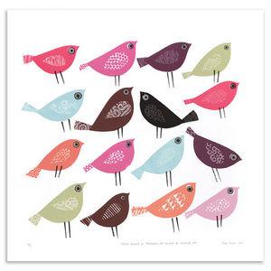 JANE ORMES -  - Silk Screen Print