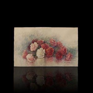 Expertissim - madeleine renaud. bouquet de pivoines - Aquarium