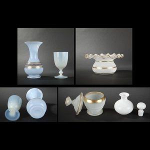 Expertissim - ensemble d'opalines, fin xixe siècle - Glasses Set